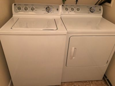 GE 2015 Washer and Dryer