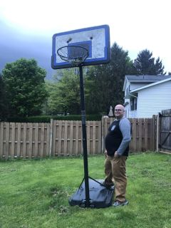 Basketball hoop - used condition