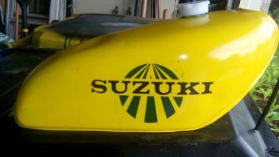 Buy Suzuki tm 125 gas tank 1975 motorcycle in Frankfort, Illinois, United States, for US $125.00