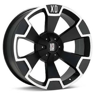 Buy 18x9 BLACK KMC XD SERIES WHEELS XD80389088700 FOR 2011 2012 2013 2014 GM HD 2500 motorcycle in Spring, Texas, United States, for US $549.00