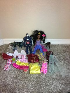 Grab a bag! Dolls and accessories!