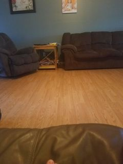 Recliner and couch