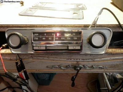 am/fm blaupunkt radio for type 3s & ghias