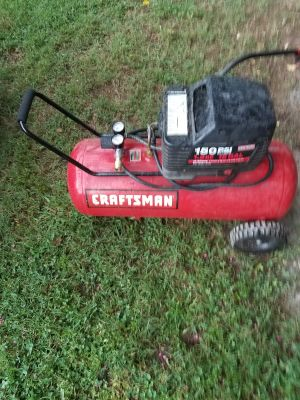 Craftsman air compressor works great