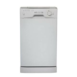"Danby 18"" Front Control Dishwasher White Stainless Steel Tub - New!-"