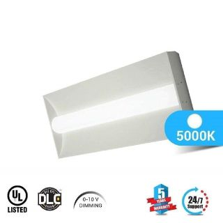 LED Troffer 2X4 50W 5000K Dimmable - LEDMyplace