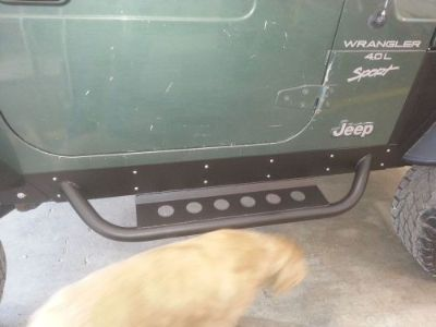 Sell Jeep Wrangler YJ Rock Sliders D.I.Y. Kit motorcycle in Springdale, Arkansas, United States, for US $125.00