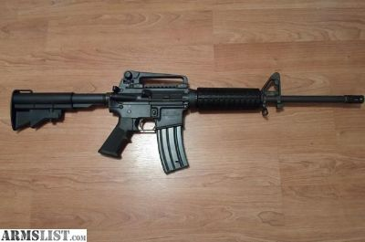 For Sale: Colt AR15-A3 tactical carbine with restricted sign