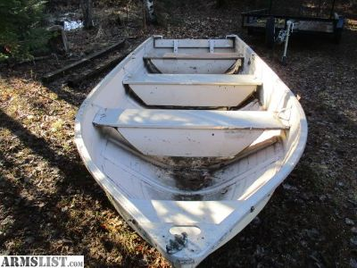 For Trade: Mirrocraft 14' Fishing Boat