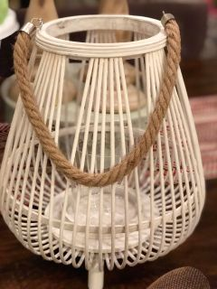 Beachy Lantern/ candle holder
