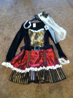 Girl's steampunk costume