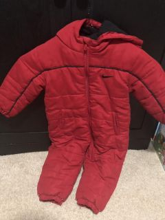 Snow/cold weather suit
