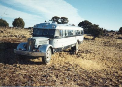 "1948 White Motorhome ""Super White"""
