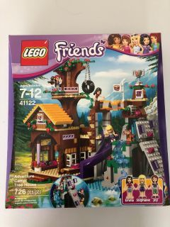 Lego Friends Adventure Camp Treehouse