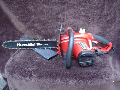 """Homelite Electric Chainsaw 16"""" 12 amp"""