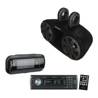 "Find Kicker KMT674 6.75"" Marine Full-Range Tower Speakers w/ Receiver & Radio Cover motorcycle in Nixa, Missouri, United States, for US $599.95"