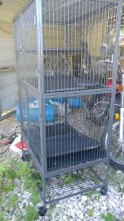 Ferret cage, like new, was 200 originally