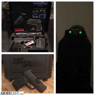 For Sale/Trade: Sig 9mm with Night sites