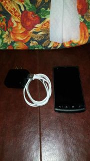 Android phone with charger
