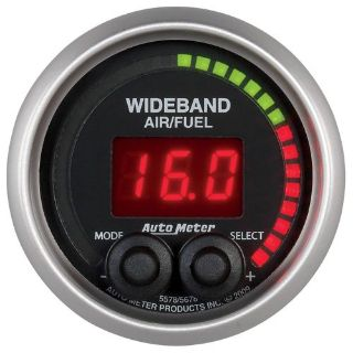 Sell Auto Meter 5678 Elite Series; Wide Band Air Fuel Ratio Gauge motorcycle in Rigby, Idaho, United States, for US $309.95