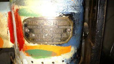 Drill Press and stand- Cincinnati Machine Tool Co