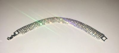 Rhinestone braclet consume jewelry great for proms of weddings