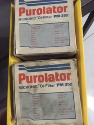 NOS Porsche Purolator Oil Filter Part # 564.07.827