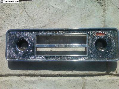 sapphire x am/fm radio face plate super rare