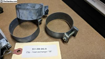 311 255 341 A, NOS Clip - heat exchanger