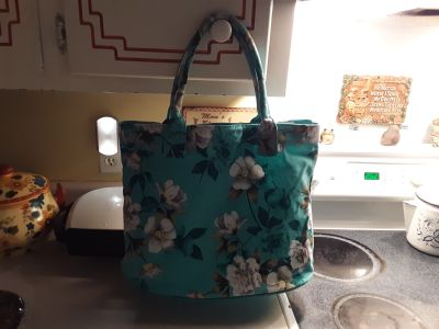 """Absolutely beautiful canvas tote 18""""x12"""""""