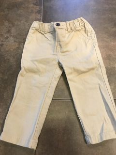 18 month Carter khakis Only Worn for Christmas