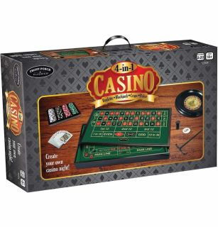 4-in-1 Vegas Style Casino Set