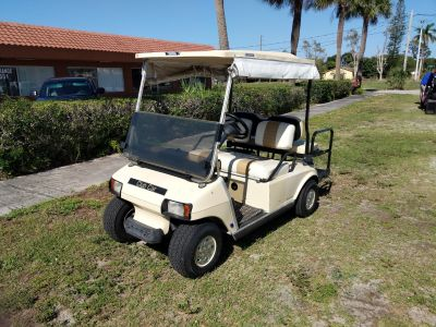 2002 Club Car 4 Passenger DS Golf Golf Carts Fort Pierce, FL