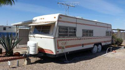 RV trailer (1983 Aluma Lite)