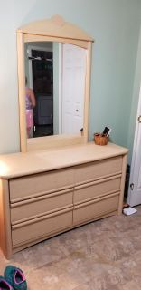 Dresser, tallboy,and night stand..sold together