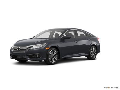 2018 Honda Civic 1.5T L4 EX CVT (Modern Steel Metallic)