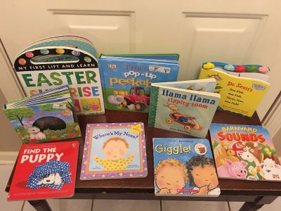 Assorted Toddler Kids books priced $5 for all