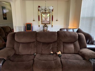 Recliner Couch - two and three seater (FREE)