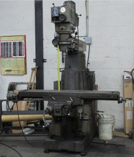 Balding Milling Machine - Model: VBRP