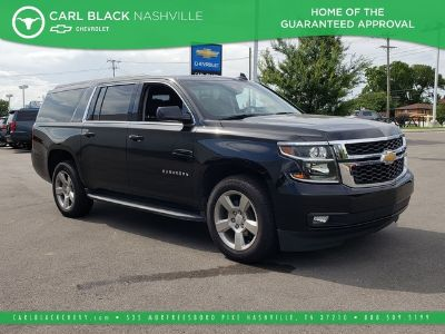 2019 Chevrolet Suburban LT 4X4 (Black)