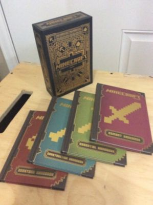 Minecraft Complete Handbook Collection Set