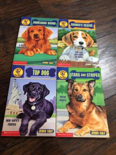 4 Puppy Patrol Books $7 for all or $2 each