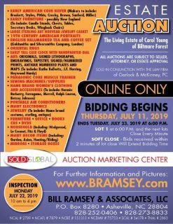 Biltmore Forest Estate Auction