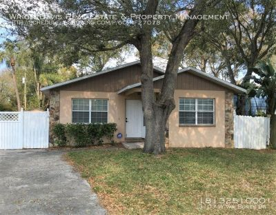 Character and charm abound in this 4/2 home in South Tampa!!