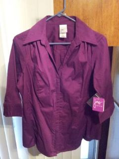 Brand New Just My Size Blouse Sz 1X (16)