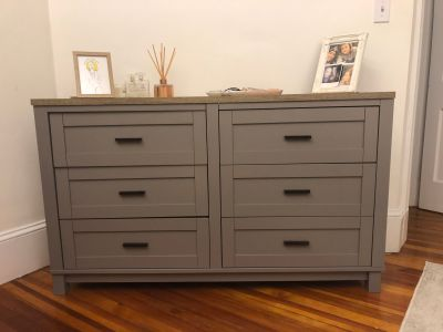Dresser, 6 Drawer Dresser, chest of drawers, wood