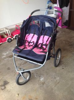 Two seater stroller