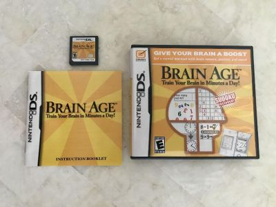 Brain Age DS Game. Train your brain in minutes a day. Get a mental workout with brain teasers, puzzles and more. Sudoku