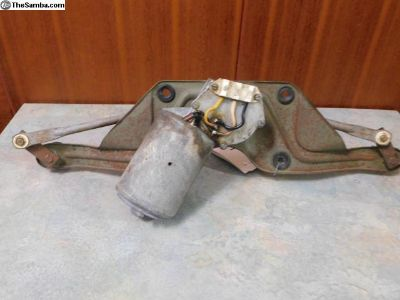Windshield Wiper Motor and Rack 356-C
