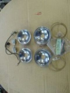 1932-33-34-FORD COWL LIGHT REFLECTERS AND PARTS-FREE SHIPPING